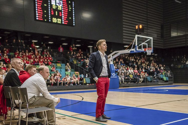 Kristian Palotie Turun seudun derbyssä. Kuva: Jouni Lappi.