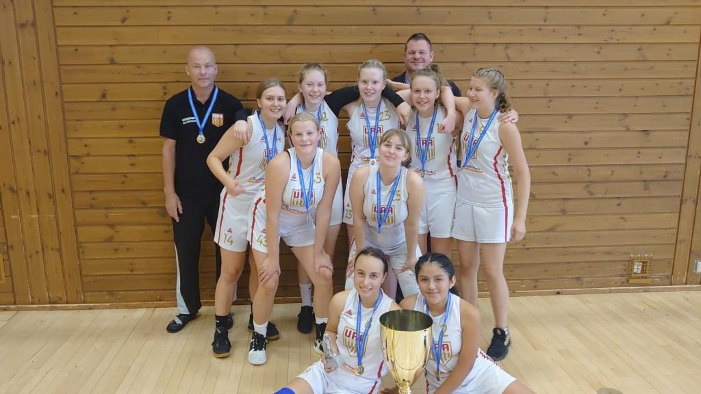 Voittoisa joukkue Jyväskylän turnauksen jälkeen